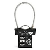 かばん用南京錠 番号錠 コード化されたロック のために バッグ用小物