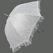 レース♥アップリケ付き♥ウェディング日傘