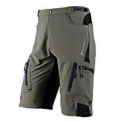 Nuckily Shorts de Ciclismo Hombre Bicicleta Shorts/Malla corta Prendas de abajo Impermeable Secado rápido Cremallera impermeable Listo