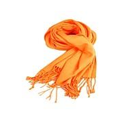Chales Bufandas Imitación Cashmere Naranja Fiesta