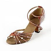 Chaussures de danse(Marron) -Non Personna...