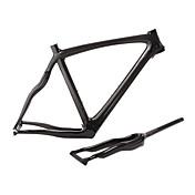 Shuffle-2013 nuevo estilo lleno de plumas de carbono luz serpiente con forma de bicicleta de carretera marco rígido con un tenedor y tija de sillín
