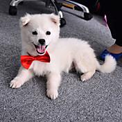 Mačke Psi Kravata/Leptir mašna Odjeća za psa Ljeto Proljeće/Jesen Mašna Slatko Vjenčanje žuta Crvena Crvena Plava Pink