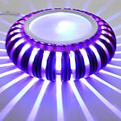 ライトのアルミニウム障壁ボディ散乱線を3W現代のLEDウォールライト