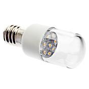 0.5W E14 Luces LED en Vela 7 LED Dip 45 lm Blanco Cálido Decorativa AC 100-240 V