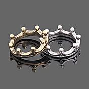 anillo de la vendimia de la corona de Corea de las mujeres (color al azar)