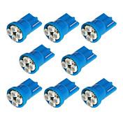 8X T10 194 168 501 4-SMD 3528 LED車の電球ブルー