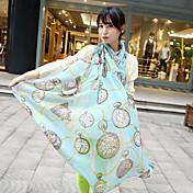 アリン·キスファッションシフォンスカーフ(SJ043)