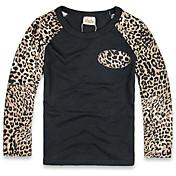 Camiseta Boy-Invierno-Algodón-Leopardo