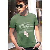 D&MメンズネックレスオリーブのTシャツ