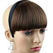 peluca sintética mujeres con calor banda de pelo de fibra resistente al partido cosplay barata del aro del pelo