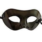 Máscara Cosplay Festival/Celebración Traje de Halloween Negro Un Color Máscara Halloween / Carnaval / Año Nuevo Unisex PVC