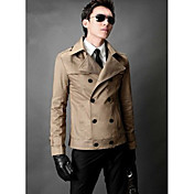 vendimia london chaqueta cruzada delgado de los hombres (acc no incluido)