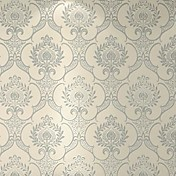 Damasco Fondo de pantalla Para el hogar Clásico Revestimiento de pared , Flocado de Terciopelo Material Auto Adhesivos papel pintado ,