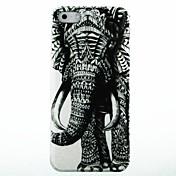 Para Funda iPhone 5 Diseños Funda Cubierta Trasera Funda Elefante Dura Policarbonato iPhone SE/5s/5