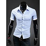 HFメンズベーシック半袖シャツ9063