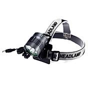 ヘッドランプ LED 4000 ルーメン 3 モード クリー族XM-L2のT6 18650 防水 充電式 キャンプ/ハイキング/ケイビング サイクリング 多機能