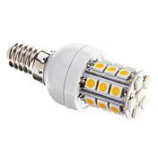 3W E14 LEDコーン型電球 T 27 SMD 5050 350 lm 温白色 明るさ調整 交流220から240 V