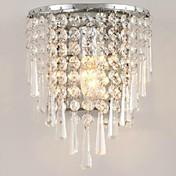 lightmyself® 3w llevó las lámparas de pared de cristal de la moda moderna bed-iluminación de cristal de la lámpara de pared e14
