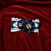 ジュエリー クラシック/伝統的なロリータ 帽子 プリンセス ロリータアクセサリー ヘッドピース 蝶結び ゼブラプリント ために レース サテン