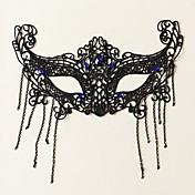 Máscara Princesas Cuento de Hadas Festival/Celebración Disfraces de Halloween Un Color Encaje Máscara Halloween Carnaval Unisex