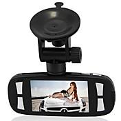 フルHD 1080pの120度レンズ車カメラ2.7インチディスプレイG1W車DVR