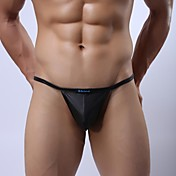Men's Sexy Faux Leather G-Strings