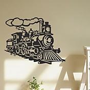 ウォールステッカーウォールステッカーは、ヴィンテージ列車蒸気機関汽船は、PVC壁のステッカーを引用