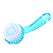 1pcs masaje cepillo de limpieza facial con el pelo de nylon