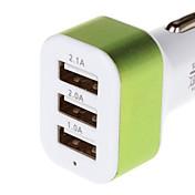 シリーズ5.1A 3 USB車の充電アダプタを充電