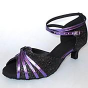 Zapatos de baile (Multicolor) - Danza latina Tacón Personalizado