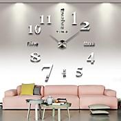 リビングルームの12s015-sのための3D大きな精神的な家の装飾DIYの創造的な人格の壁時計
