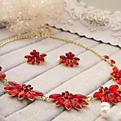 Conjunto de joyas De mujeres Aniversario / Pedida / Cumpleaños / Regalo / Fiesta / Cotidiano / Ocasión especial Sets de Joya Titanio