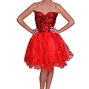 baile de vestido sin tirantes de la moda de las mujeres Beautifly