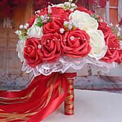 Afdeling Polystyrenskum Roser Bordblomst Kunstige blomster 26 x 26 x 33(10.24'' x 10.24'' x 12.99'')
