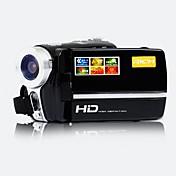 Videocámara - Pantalla - 5.0 MP CMOS - 2.8 Zoll - 12x - Salida de vídeo/720P/HD/Anti golpe