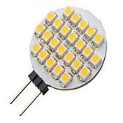 3W G4 LED-spotlys 24LED SMD 3528 500 lm Varm hvid Kold hvid Jævnstrøm 12 V 1 stk.