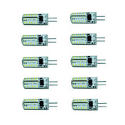 G4 Focos LED 48 SMD 3014 150-180 lm Blanco Cálido Blanco Fresco AC 100-240 V 10 piezas