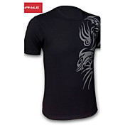 MANWAN WALK®Men's Fashion Dragon Tattoo Printing Short Sleeve Tee