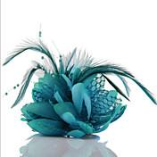 pena headpieces rendas cabelo gravatas fascinators