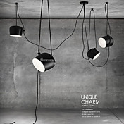 Lámparas Colgantes ,  Moderno / Contemporáneo Pintura Característica for Mini Estilo MetalSala de estar Dormitorio Habitación de