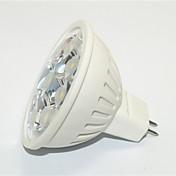 1個 JS GU10 3W 9*SMD 3535 270 LM 温白色 / クールホワイト MR16 装飾用 LEDスポットライト AC 85-265 V
