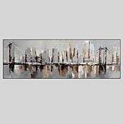 Ručno oslikana Fantazija Horizontalna Panoramski,Klasika Tradicionalno Jedna ploha Platno Hang oslikana uljanim bojama For Početna