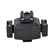 micnova mq-tha adaptador coldshoe tripartita para las luces de vídeo parpadea monitores micrófonos