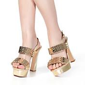 sandalias de cuero de las mujeres aokang® - 342818037