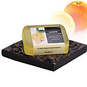 ALL BLUE エッセンシャルオイル・ソープ Bath Soaps 標準 レモン Balance Oil Secretion / 美白 / Replenish Water / 精神安定 / Shrink Pores / 保湿 / ニキビ対策 / お肌ケア不安解消 /