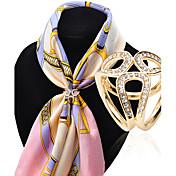 Žene Broševi imitacija Diamond Legura Moda Pink Zlatan Jewelry Vjenčanje Party Special Occasion Rođendan Dnevno Kauzalni