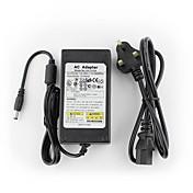 yanse® adaptador de alimentación del sistema cctv 12V5A + ac 100 ~ 240v de entrada 50 / 60Hz a dc 12v de salida 5000mA (EU / AU / UK / US