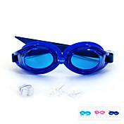 SUPER-K スイミングゴーグル 曇り止め 防水 サイズが調整できます. シリカゲル PC ピンク ブルー ライトブルー ピンク ブルー ライトブルー