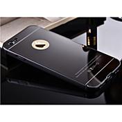 de alta qualidade protectora de metal pára-choques moldura com tampa traseira para o iphone 6s 6 mais